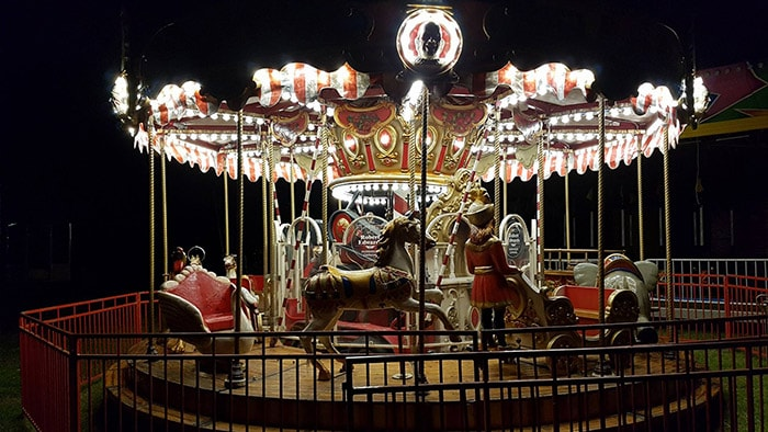 Merry Go Round Hire 3 min Ride