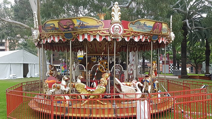 4 Min Merry Go Round Ride Hire